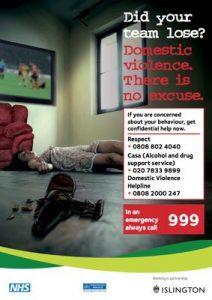 Domestic violence Image: Islington Council