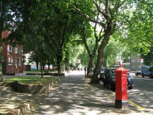 The call-out was near Highbury New Park. Image: Adam Quinn