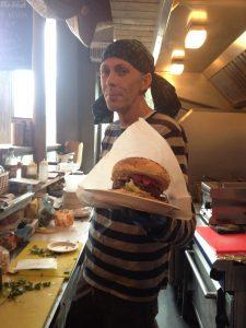 Heartbreak burger from 'street fooders'  Tongue n' Cheeks