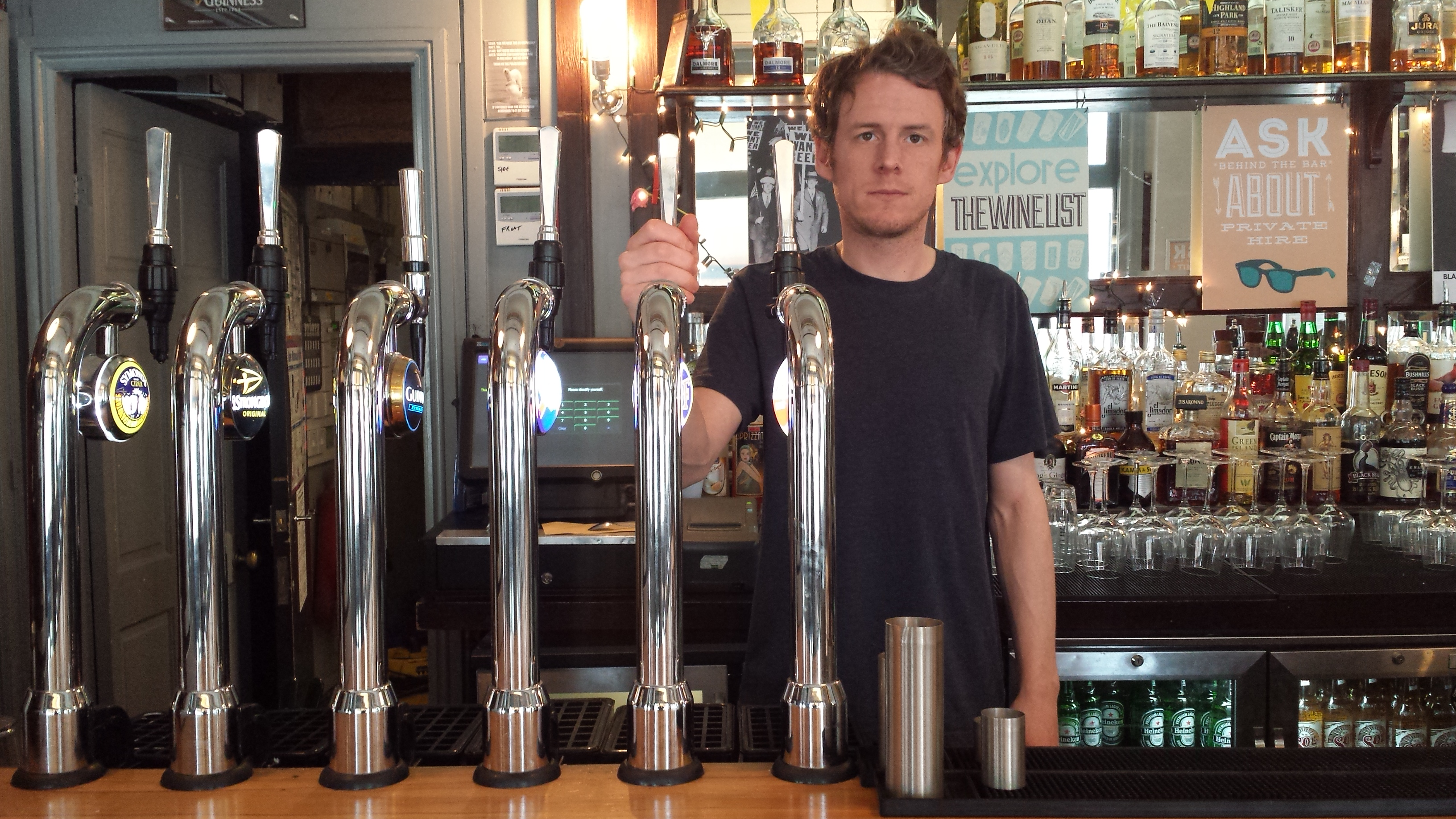 pub managers oppose late night booze tax islington nowislington now late night booze tax paul henealy assistant bar manager