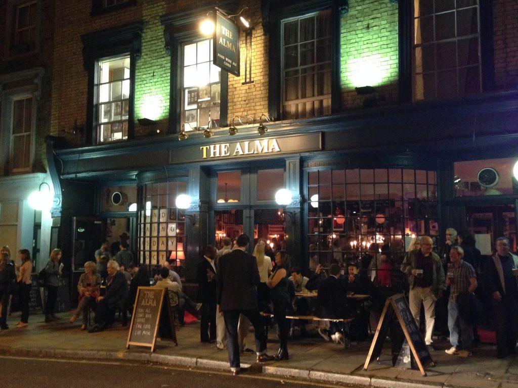 Alma pub