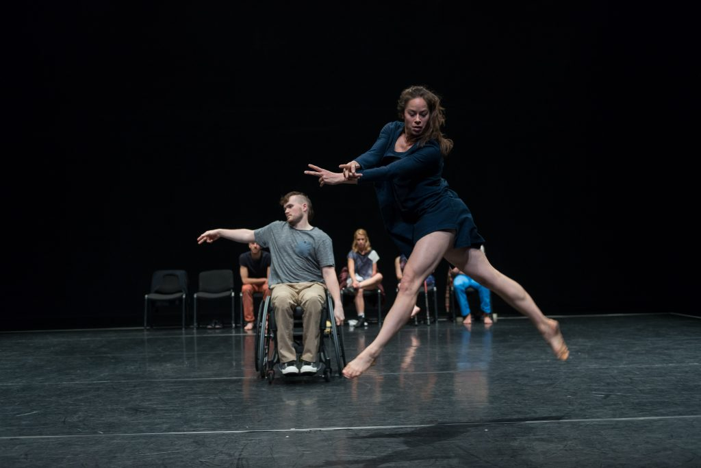 Candoco are one of few dance troupes to offer facilities for disabled people in Islington