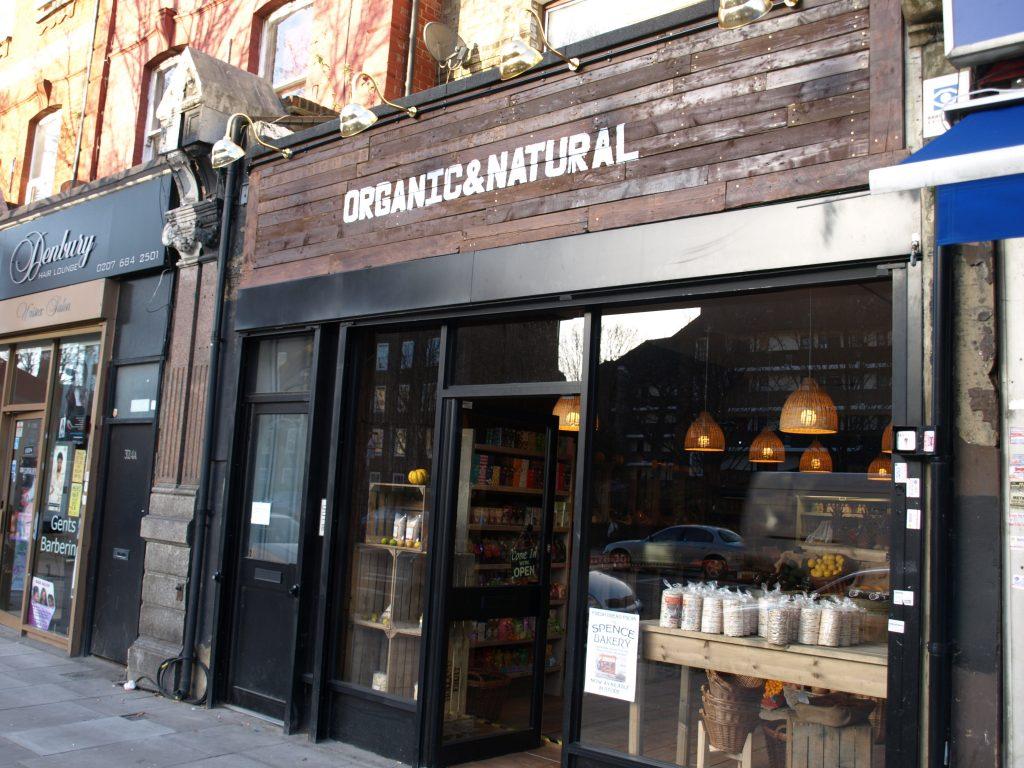 Lower Holloway Organic Natural Shop