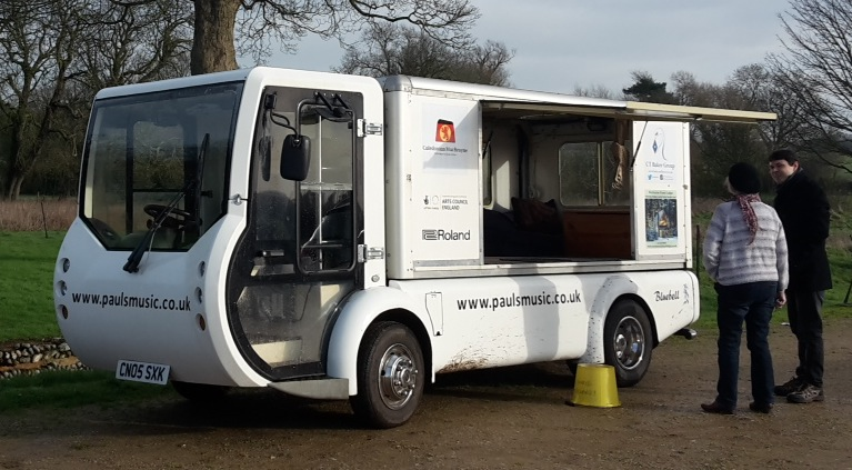 The milk float Octopus are raising money to convert